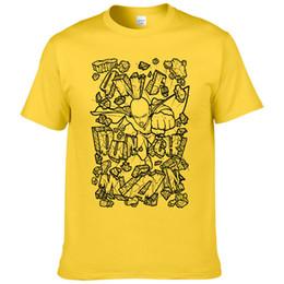 T Shirt Leopard Fashion Men Australia - One Punch Man T Shirt Men Hero T-shirt 2019 Summer Fashion Cartoon Short Sleeve Cotton Tops Cool Tee #269