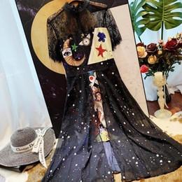 $enCountryForm.capitalKeyWord Australia - Womens Shirt Long Dress Long Sleeve Fashion Sun Moon Print Dress Slim Casual Dress Female