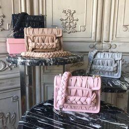 $enCountryForm.capitalKeyWord Australia - Ladies bag shoulder Messenger bag handbag fashion luxury high quality craft original single imported top lambskin matte hardware 5BD049