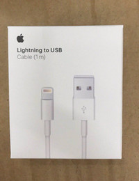 $enCountryForm.capitalKeyWord Australia - 1m 3FT Original OEM Quality USB Data Charger Cable with Braid Weave + Aluminum foil Cord for iPhone i5 5 6 7 8 x xs With retail package box
