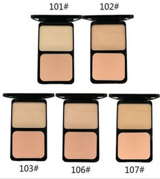$enCountryForm.capitalKeyWord Australia - DHL Free 5 Colors Face Matte Shimmer Powder Long-Lasting Foundation Makeup Concealer Puff Contour Nude Compact Beauty Cosmetic Wholesale