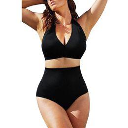 8ff5dc5e6c Soft Women Bikini Push Up Padded Bra Bandeau High Waist Bikini Swimwear  Summer Swimsuit Women Plus Size For Women Bikini