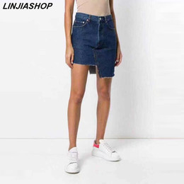 $enCountryForm.capitalKeyWord Australia - Summer beach short women hot jeans high waist zipper streetwear denim shorts girls loose plus size designer new arrivals 2019