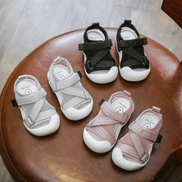 $enCountryForm.capitalKeyWord NZ - Summer 2019 New Kids'Shoes 0-1-2 Years Old Babies Weave Ribbons and Anti-kick Baldhead Sandals Babies' Soft-soled Walking Shoes