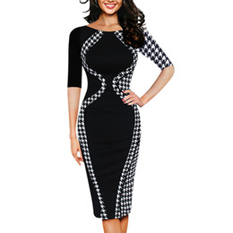 Bohemian style clothes for women online shopping - Women Dresses Women Designer Clothes Sexy Bodycon Short Sleeve Business Style Pencil Dress Women Dresses Clothing For