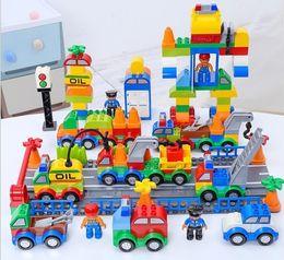 $enCountryForm.capitalKeyWord Australia - Building Blocks Plastic Digital Box 106 digital train car building blocks kids toys Children's Educational Intelligence Safe Environmental