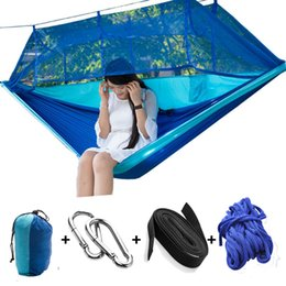 $enCountryForm.capitalKeyWord Australia - Wholesale-mosquito net hammock Double personal Outdoor camping Air tents 260*140CM Family Camping Tents hot sales