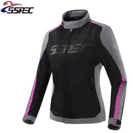 $enCountryForm.capitalKeyWord Australia - Women Summer Mesh Motorcycle Jacket Motocross motorcycle Protective Gear Auto Racing Coat Off Road Clothing Outdoor Sportswear