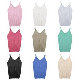 $enCountryForm.capitalKeyWord Australia - Women Ice Cream Summer Camisole Bruiser Glettering Top Harvest Knit Stretch Fine Tank Top In 12 Colors TS-052 #681285