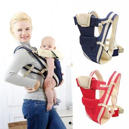 $enCountryForm.capitalKeyWord Australia - New Breathable Ergonomic Baby Front Carrier Infant Sling Backpack Pouch Wrap New Fashion Pregnancy Baby