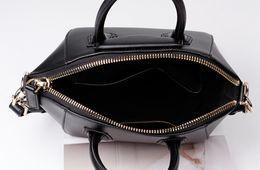 $enCountryForm.capitalKeyWord Australia - Casual Tote Women Shoulder Bags Cow Genuine Leather Luxury Bags Designer Brand Female Handbags Hobos Crossbody Bags Black