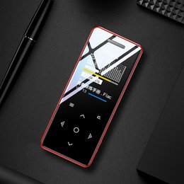 Voice Music Speakers Australia - Yescool MP3 Player with built-in speaker touch Key lossless HiFi sport music player with FM radio Recorder portable slim walkman