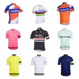 2019 RABOBANK RAPHA Summer Cycling Jersey Quick Dry short sleeve cycling  shirt mountain Bike tops bicycle clothes Maillot Ciclismo K010326 5ac04445f