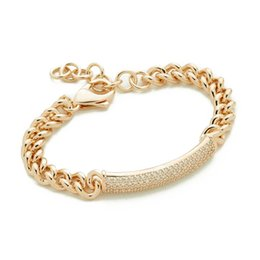wedding gold crystals UK - Luxury Crystal Bracelets For Women Silver Rose Gold Bracelets & Bangles Femme Bridal Wedding Jewelry Charm Vintage Bracelet Cuff