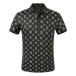 Wholesale men dressed shirt for sale – dress FF New Designer Polo Shirts Men Luxury Polo Casual Men Polo T Shirt Snake Bee Letter Print Embroidery Fashion High Street Mens Polos