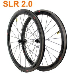 bike wheel straight Australia - SLR2.0 700c Carbon Road Bike Wheelset A2 Brake Surface Tubular Clincher Tubeless Straight Pull Low Resistance Ceramic Hub