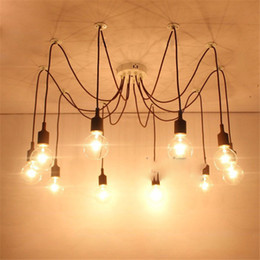 $enCountryForm.capitalKeyWord Australia - Modern Spider Chandelier Colorful Pedant Light Loft Industrial Hanging Lamp Ceiling Dinning Room Kitchen Cafe Shop Bar Country