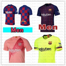 e1592e573 10 Messi Soccer Jersey Barcelona 18 19 New Iniesta Suárez Dembele A.  INIESTA O. DEMBELE Coutinho MALCOM men women kid s kits Football shirts
