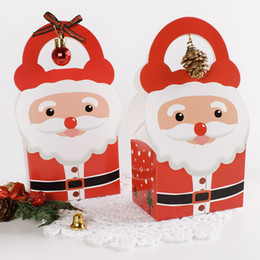 $enCountryForm.capitalKeyWord NZ - Merry Christmas Candy Gift Boxes Santa Claus Christmas Party Goody Favor Gift Bags Xmas Decorations ZC1071