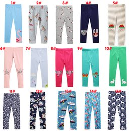 $enCountryForm.capitalKeyWord Australia - 25Style Girls Cotton Animal Print baby Leggings Pants tight Toddlers Clothes childrens boutique clothing Cosplay Legging Tights1-7Y kids