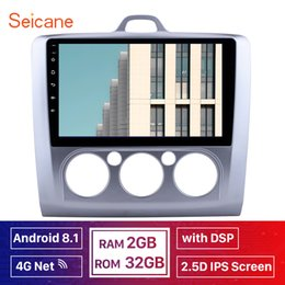 Ford Focus Player Australia - Seicane IPS Android 8.1 2din 4G 32G DSP Car multimedia player for Ford Focus 2 Exi MT 2004 2005 2006 2007 2008 2009 2010 2011