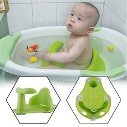 Wholesale Baby Bathing Chair Tub Ring Seat Baby Anti Slip Safety Chair Kids Bathtub Mat Non-slip Pad Care Support Infant Shower