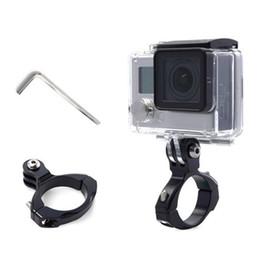 Neu 31,8mm Fahrrad Clip Halter Action Kamera Lenker Sattelklemme für GoPro Hero5 / 4 # 532413