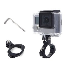 $enCountryForm.capitalKeyWord Australia - Newly 31.8mm Bike Bicycle Clip Holder Action Camera Handlebar Seat Mount Clamp for GoPro Hero5 4 #532413