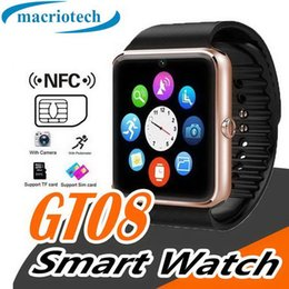 $enCountryForm.capitalKeyWord Australia - GT08 Bluetooth Smart Watch with SIM Card Slot Android Watchs for Samsung and IOS Apple iphone Smartphone Bracelet Smartwatch