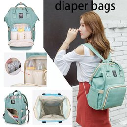 Girl Diaper Mommy Australia - 18 Colors New Multifunctional Baby Diaper Backpack Mommy Changing Bag Mummy Backpack Nappy Mother Maternity Backpacks