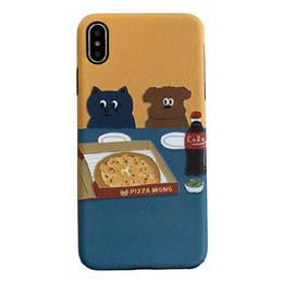 $enCountryForm.capitalKeyWord Australia - Cat 8plus Apple x mobile phone case XS Max XR iPhone X 7p 6 female 6S new cartoon personality creative couple anti-fall protective jacket