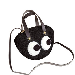 leather cell phone patterns 2019 - Fashion Women Tide Cartoon Big Eye Pattern Personality Crossbody bag Ladies Satchel Tote Strap Wild Bags Shoulder Messen