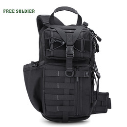 Soldier backpack online shopping - FREE SOLDIER Outdoor Sports Tactical Backpack For Camping Hiking Climbing Men s Backpack Nylon Bag Double Shoulder Bag