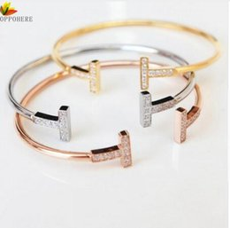 Christmas Gift Nails Australia - Branded Fashion Jewelry For Men And Women Lover Bracelets Bangles Nails Cuff Bracelet Jewelry Valentine Gift