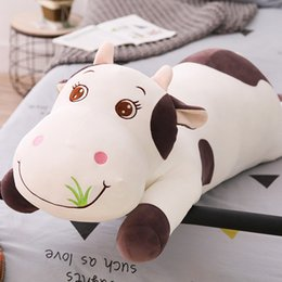 $enCountryForm.capitalKeyWord Australia - 50cm Cow Stuffed Animals Plush Toys Pillow Car Decoration Valentine's Day Gifts Hot Toys Girlfriend Birthday Gifts Toys New Arrvial Hot Sale
