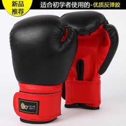 gear play NZ - Size10oz Adult professional sanda boxing gloves playing sandbags sandbags fitness fight gloves boxing martial arts training T191226