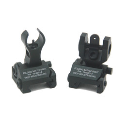 Tactical Troy Front and Rear Folding Battle sight COMBO Back-up Sight for hunting
