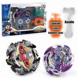 $enCountryForm.capitalKeyWord NZ - Beyblade BB804E Rapidity Top Fighting Gyro Starter Set with String Booster New Design Beyblades Toys for Kids