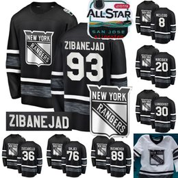 2019 All-Star Game Jersey New York Rangers 93 Mika Zibanejad 20 Chris  Kreider 13 Kevin Hayes 8 Cody McLeod 72 Filip Chytil Hockey Jerseys 7f12a37e3