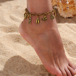 Anklets Rings Australia - Cheap Barefoot For Wedding Bridal Jewelry Anklet Chain Hottest Stretch Gold Toe Ring Beading Wedding Bridal Bridesmaid Jewelry Foot