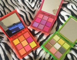 Different eyeshaDow online shopping - ePacket New Arrival Hot Brand New Makeup Eyes Beauty Neon Palette Colors Eyeshadow Different Colors