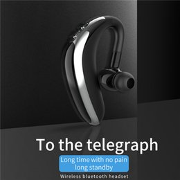 Wholesale V5 H500 Bluetooth Wireless Headset Hook Design Comfortable Cell Phone Alternate Earbud Left Right Ear Earphone car