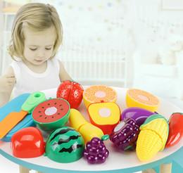 $enCountryForm.capitalKeyWord Australia - 2019 Cutting Cooking Food Sets plastic Vegetables Fruits Pretend Play Kitchen Kits Toy