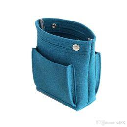 $enCountryForm.capitalKeyWord UK - Fashion Package Impurity Arrangement Storage Felt Liner Pure Color Multi Function Speedy Bag Cosmetic Buckle Wrap Basket 8 5dcB1