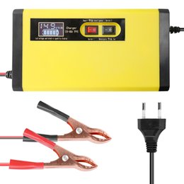 $enCountryForm.capitalKeyWord Australia - 12V 8A Full Automatic Car Battery Charger Intelligent Fast Power Charging Pulse Repair Chargers Wet Dry Lead Acid Battery Charge