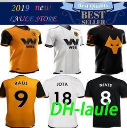 Jerseys Wolf Australia - 19 20 Wolves Soccer Jerseys Raul Jimenez 2019 2020 Wolverhampton Wanderers jersey COSTA JOTA Football Shirt BOLY NEVES Soccer Shirt