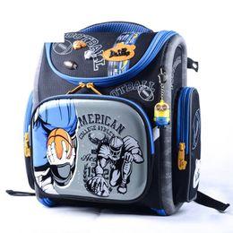 Delune Children High Quality 3d Cartoon Cars School Bags Boys Girls  Students Kids Travel Orthopedic Satchel School Backpack Bags 88d1ec36d1f3d