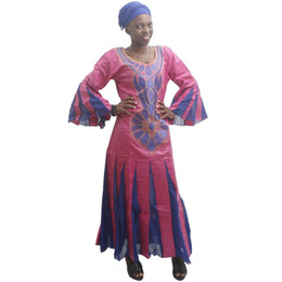 Wholesale embroidery for dresses for sale - Group buy MD bazin riche african dresses for women embroidery dress with chiffon women s traditional african clothes wedding party dresses