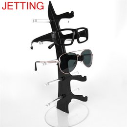 eyeglass displays Australia - 5 Layers Sunglasses Display Stand Plastic Frame Multi-Color Glasses Eyeglasses Organizer Eyewear Counter Show Stands Holder Rack