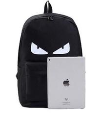 $enCountryForm.capitalKeyWord Australia - Free shipping cute Monsters devil bag animal backpack fashion little monster pattern nylon backpack for girls